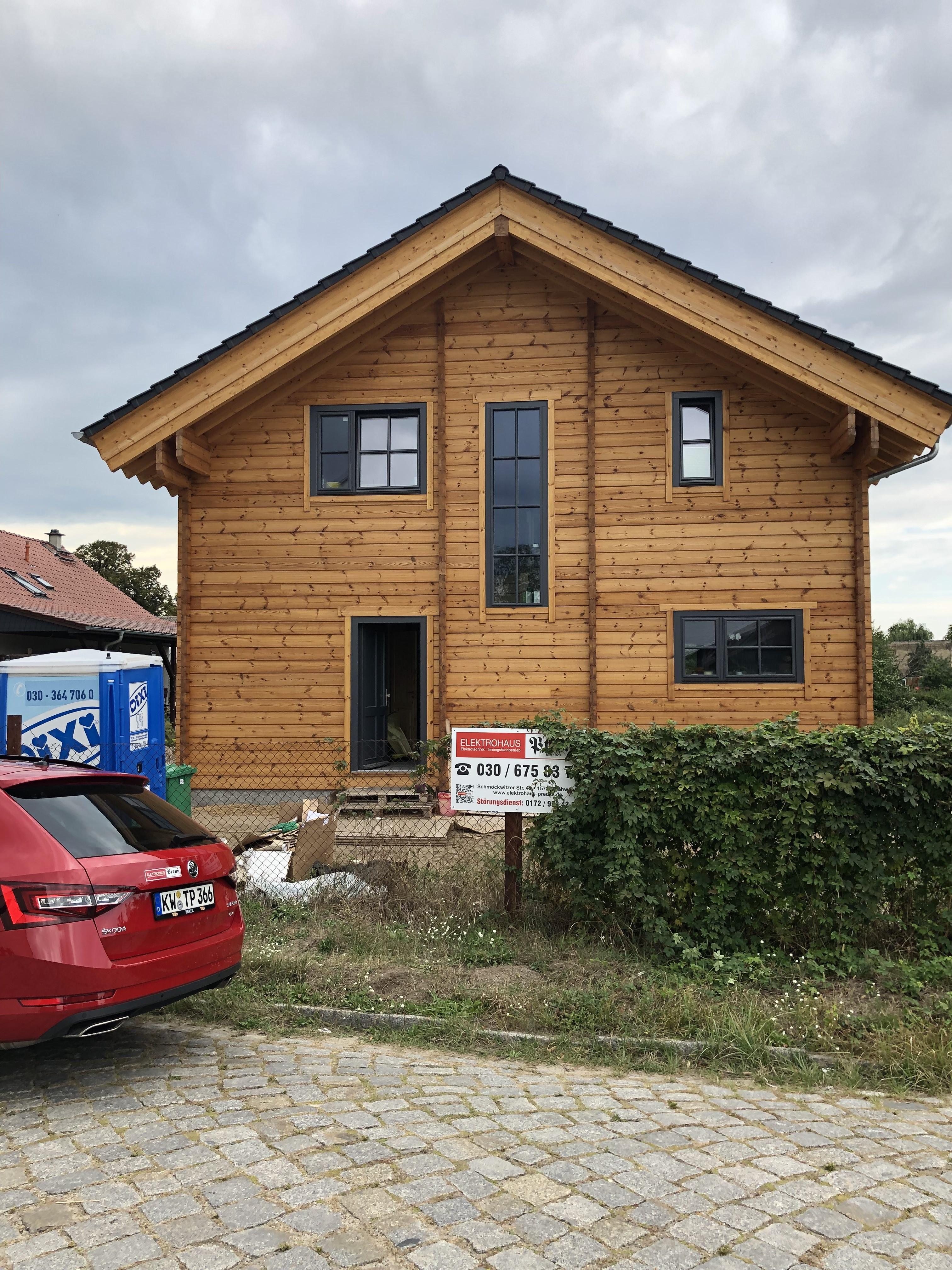 Ein Haus in Zossen