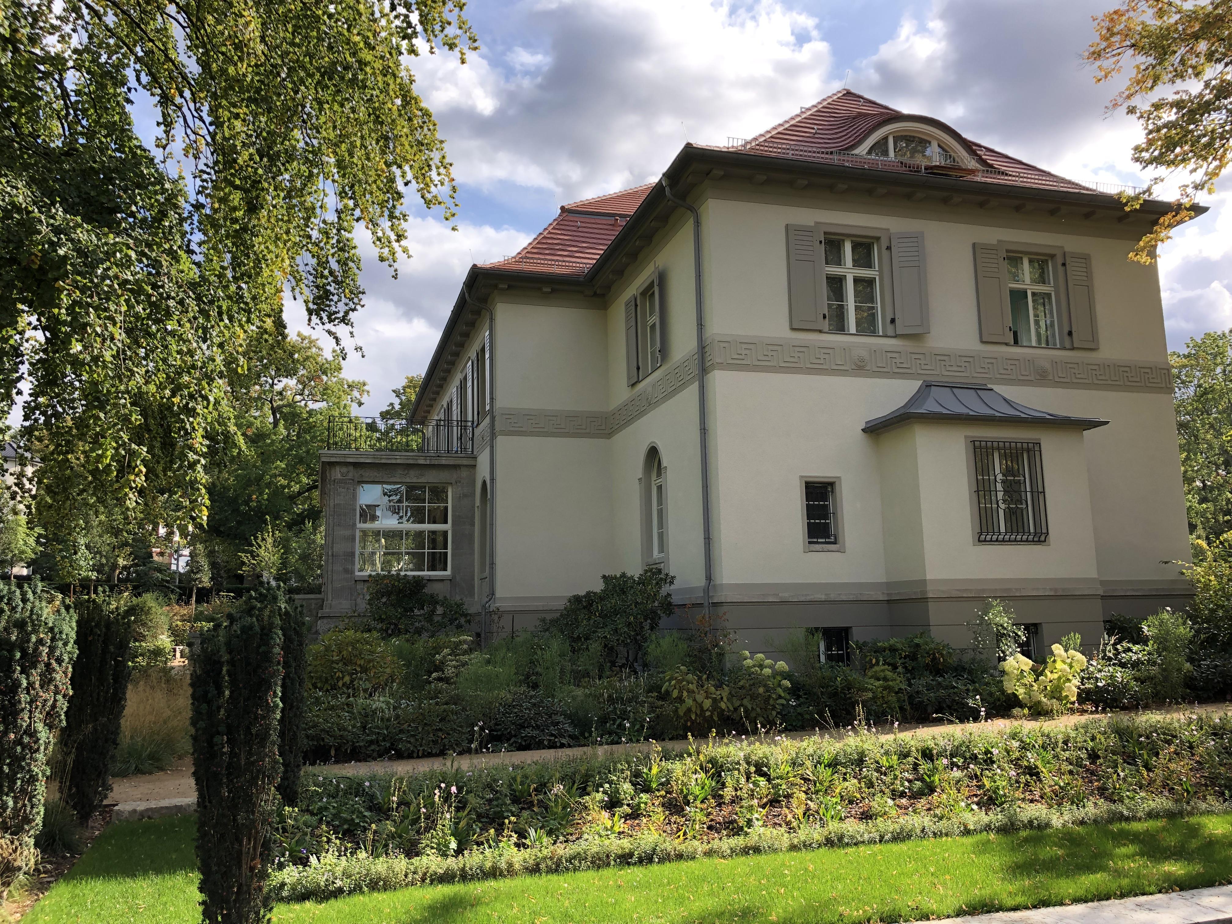 eine Villa in Berlin.